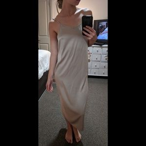 NWT Elegant Slip Dress